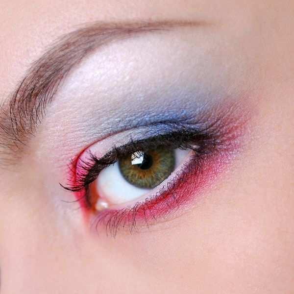 Nowocześnie wykonany makijaż